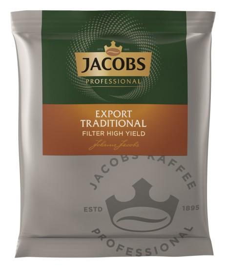 Jacobs Professional Export Traditional Filterkaffee  90 x 55g Gemahlen, Portionskaffee