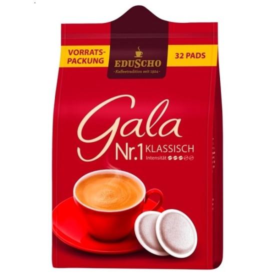 Eduscho Gala Nr.1 Klassisch Röstkaffee 32 Pads