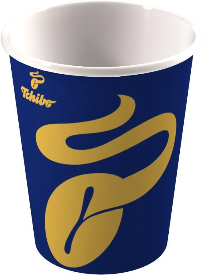 Tchibo Coffee to go Becher 200ml 1000 Stück Pappbecher