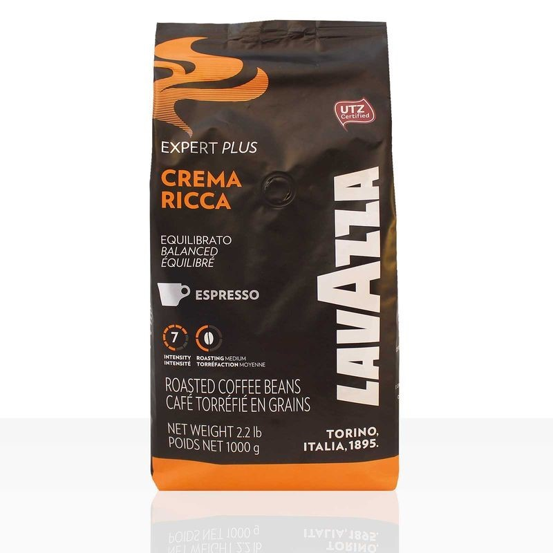 Lavazza Expert Crema Ricca Espresso 1kg Ganze Bohne