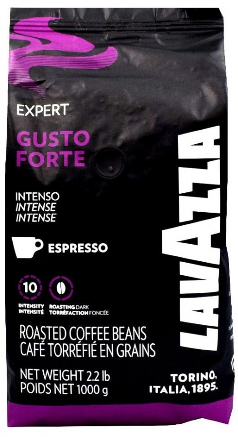Lavazza Gusto Forte Espresso Bohne 6 x 1kg  Ganze Bohne