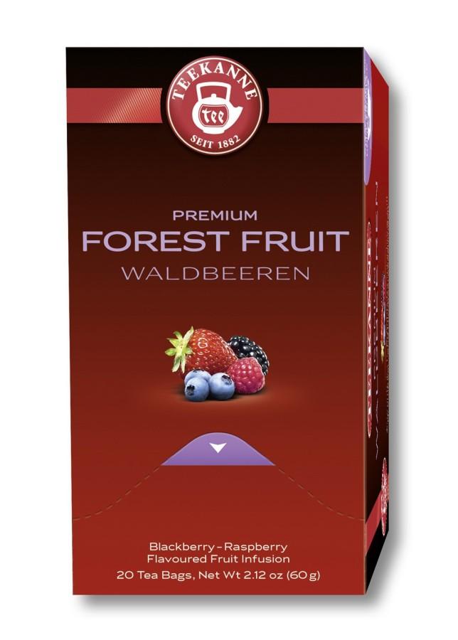 Teekanne Premium Waldbeeren  20 Teebeutel