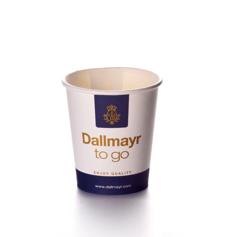 Dallmayr Coffee to go Becher 200ml 50 Stück Pappbecher