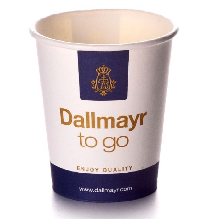Dallmayr Coffee to go Becher 300ml  Kaffeebecher 50 Stück