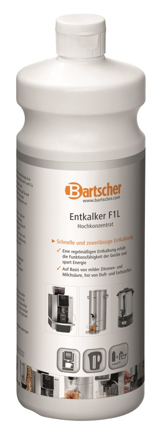 Bartscher Flüssigentkalker F1L, 2er Set