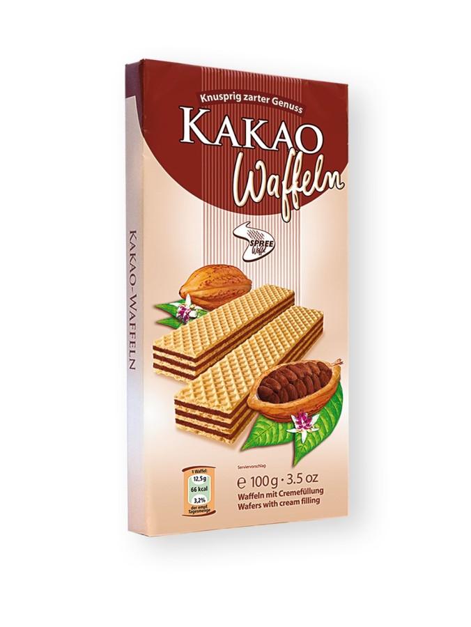 Spreewaffel Kakao-Waffeln 100g