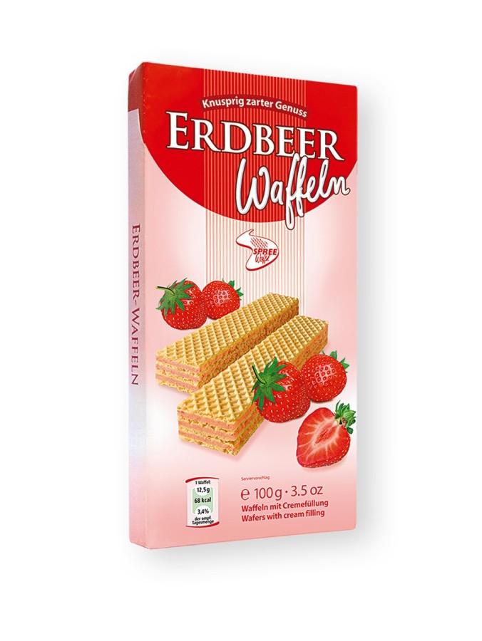 Spreewaffel Erdbeer Waffeln 100g