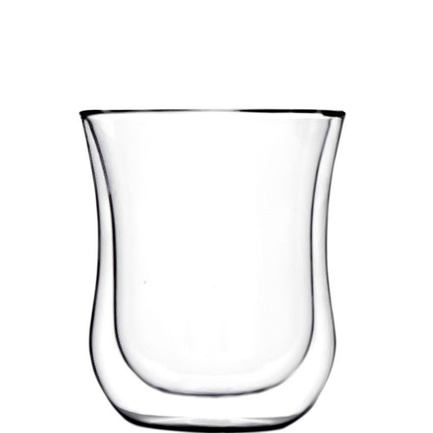 Stölzle Lausitz Kaffeeglas / Teeglas M 0,18 l  Coffee N More 2er-Set