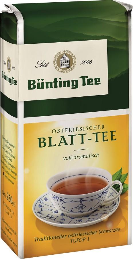 Bünting Tee Ostfriesischer Blatt-Tee 250g lose
