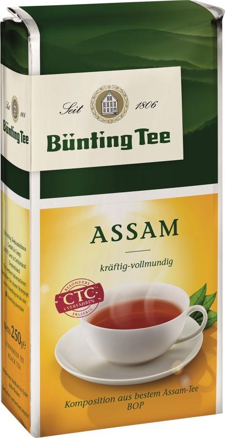 Bünting Tee Assam Schwarzer Tee  250g lose