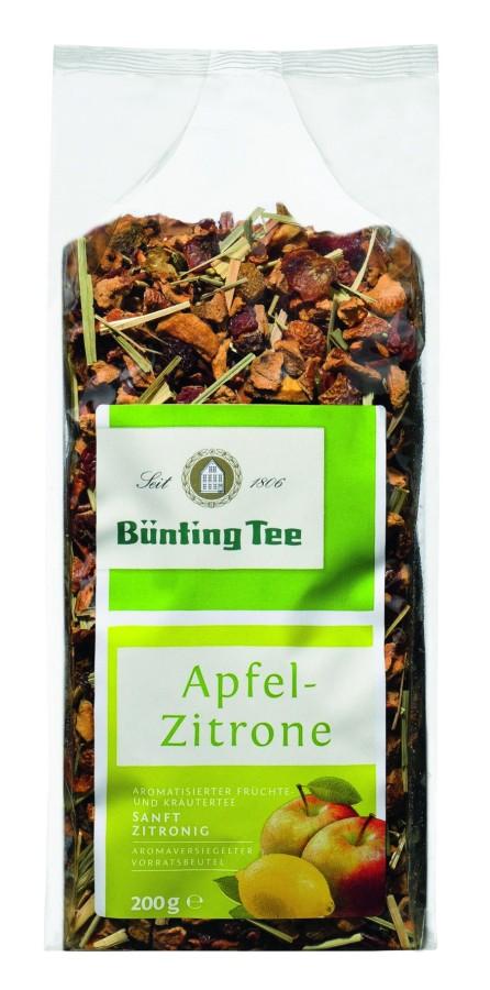 Bünting Tee Apfel-Zitrone Früchtetee 200g lose