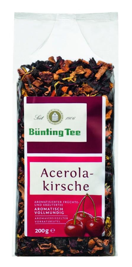 Bünting Tee Acerola-Kirsche Früchtetee 200g lose