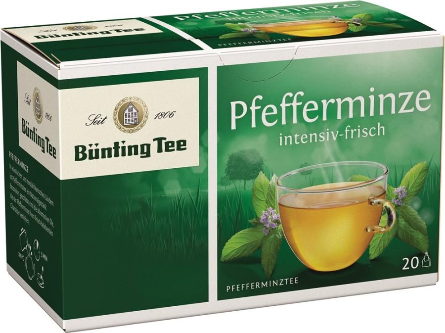 Bünting Tee Pfefferminze 20 x 2g Teebeutel