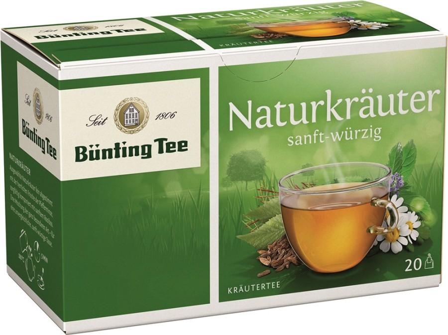 Bünting Tee Naturkräuter  20 x 2g Teebeutel
