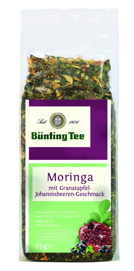 Bünting Tee Moringa lose 75g lose