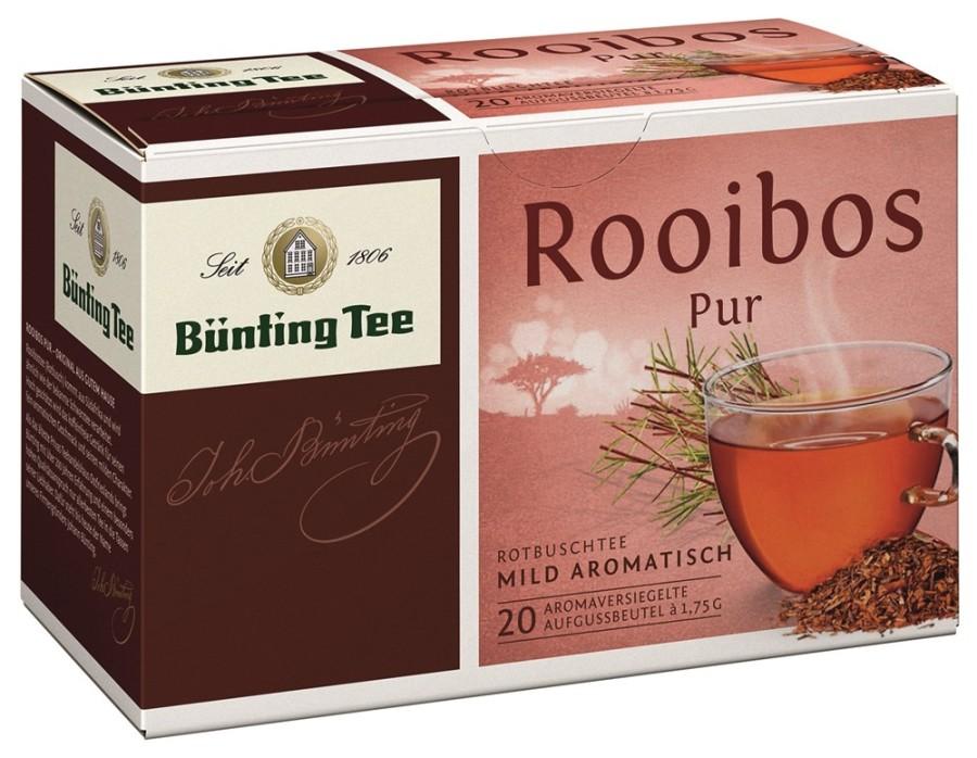 Bünting Tee Rooibos Pur 20 x 1,75g Teebeutel