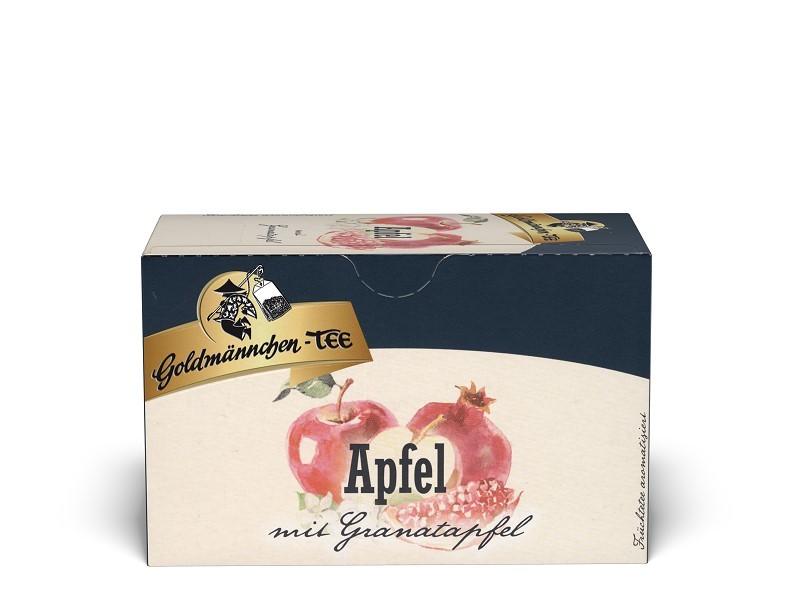 Goldmännchen Tee Apfel mit Granatapfel 20 x 1,5g Teebeutel