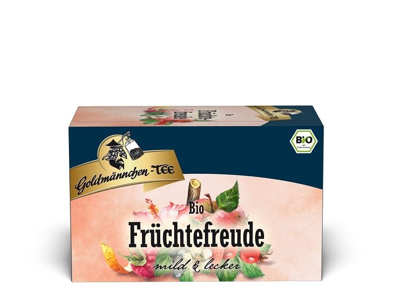 Goldmännchen Tee Früchtefreude 20 x 1,5g Teebeutel, Bio