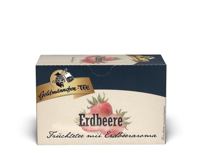 Goldmännchen Tee Erdbeere 20 x 1,5g Teebeutel