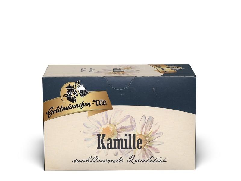 Goldmännchen Tee Kamille Kräutertee 20 x 1,5g Teebeutel