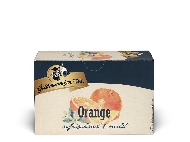 Goldmännchen Tee Orange 20 x 2,25g Teebeutel