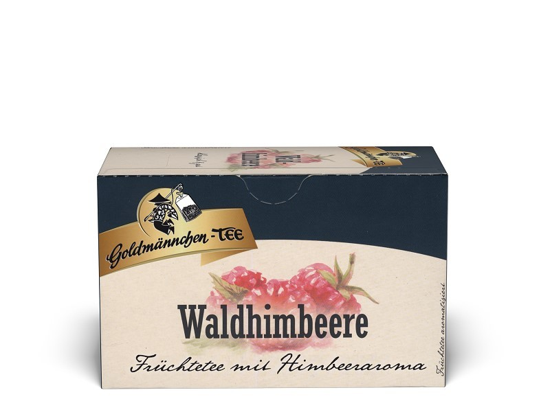 Goldmännchen Tee Waldhimbeere 20 x 2,25g Teebeutel