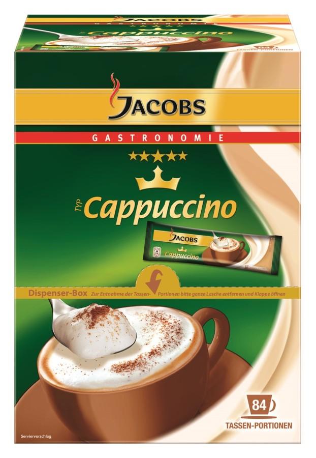 Jacobs Cappuccino Sticks 84 x 11g Tassenportionen