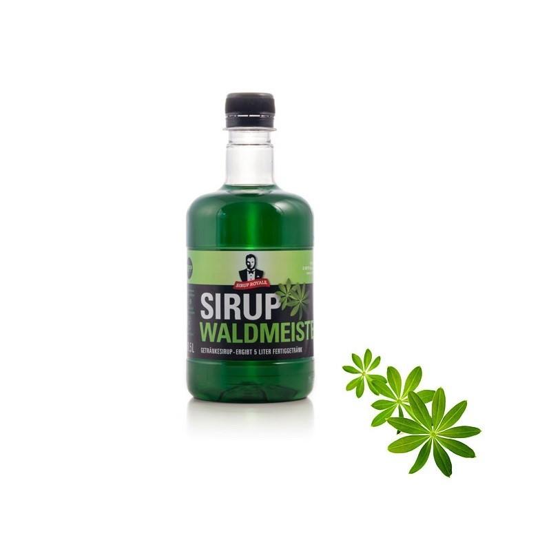 Sirup Royale Waldmeister 0,5 Liter für Erfrischungsgetränke