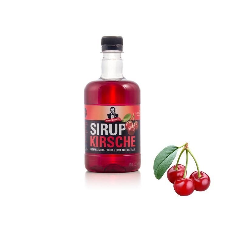 Sirup Royale Kirsche 0,5 Liter für Erfrischungsgetränke