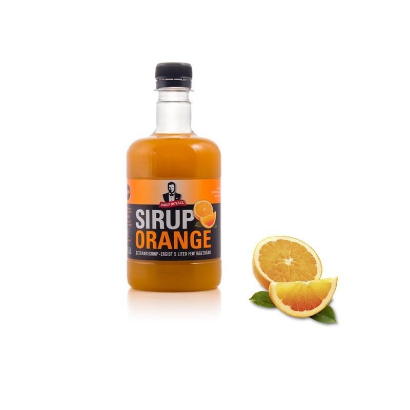 Sirup Royale Orange 0,5 Liter für Erfrischungsgetränke