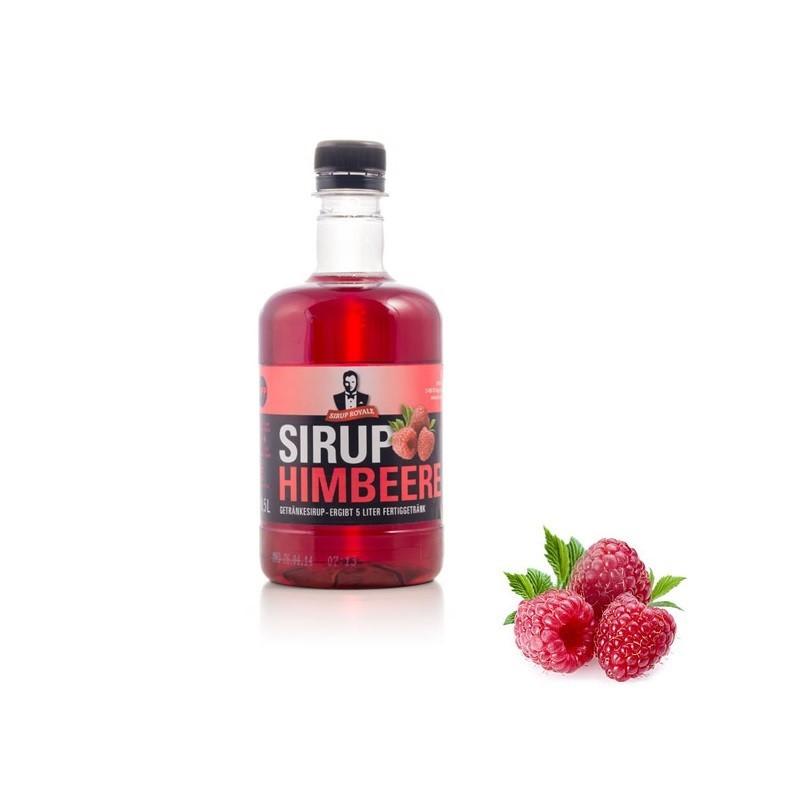 Sirup Royale Himbeere 0,5 Liter für Erfrischungsgetränke