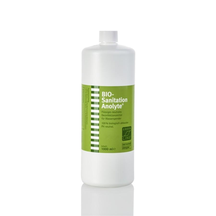 Servomat Bio Sanitation Anolyte Desinfektionsmittel 1 Liter  für Wasserautomaten