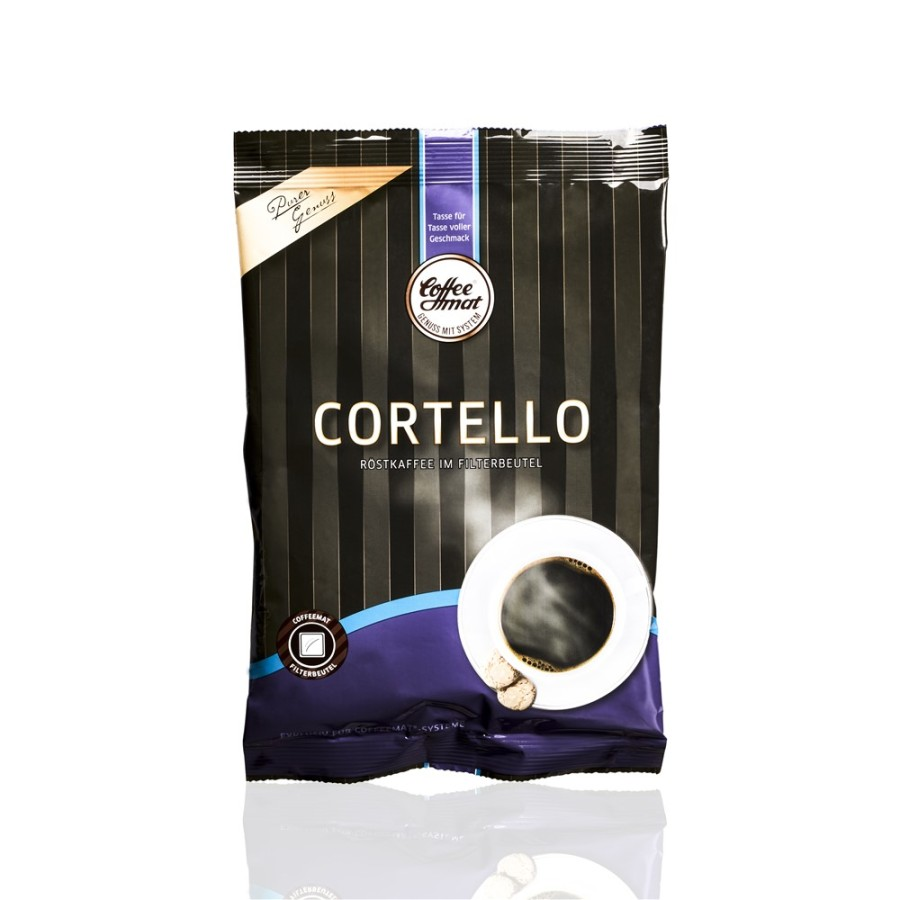 Coffeemat Cortello volle Kanne Filterkaffee  36 x 60g Filterbeutel