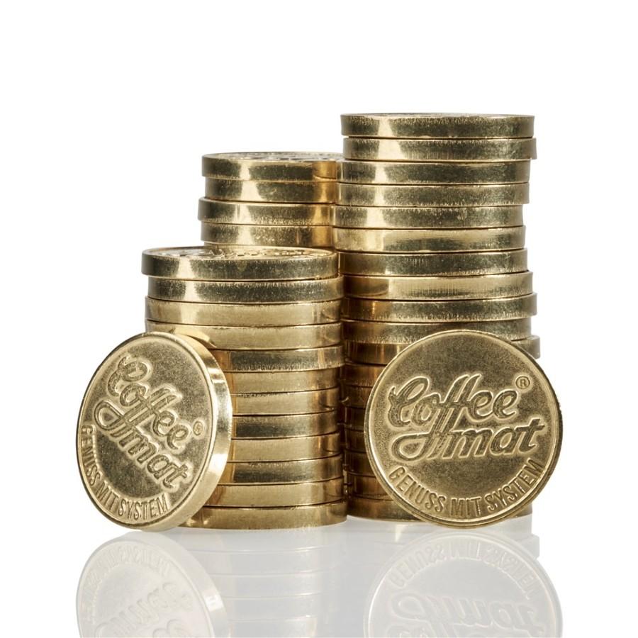 Wertmarken für Kaffeeautomaten 100 Stück