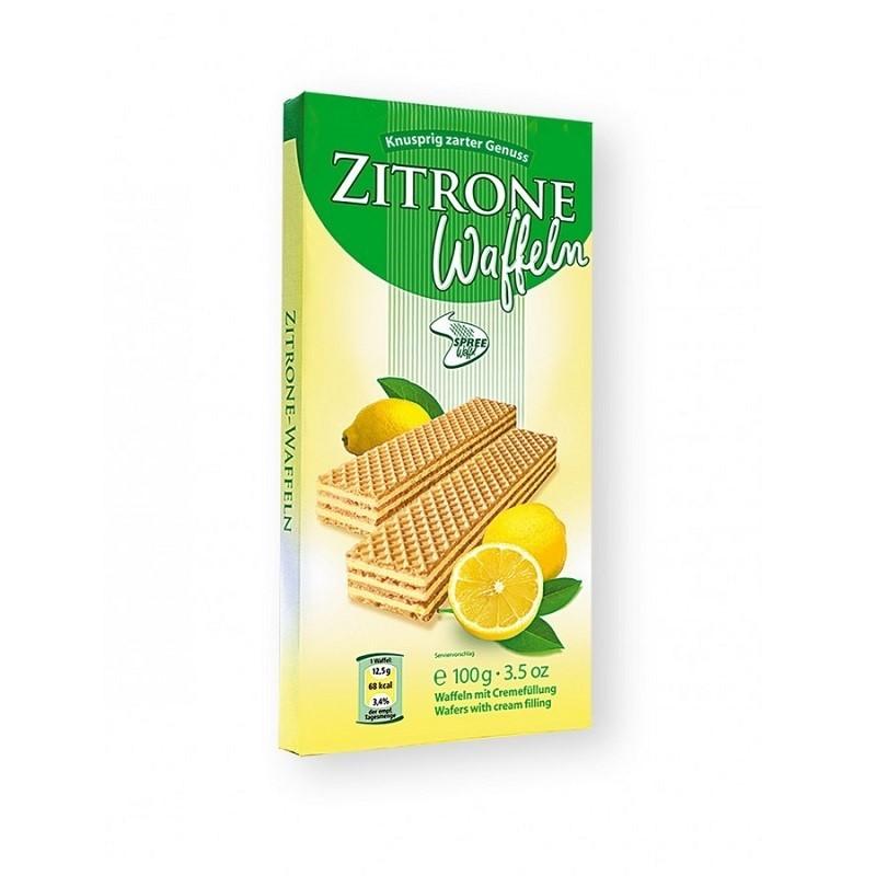 Spreewaffel Zitrone Waffeln 100g