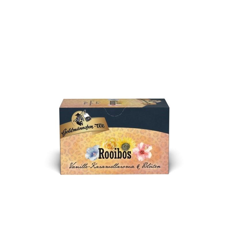 Goldmännchen Tee Rooibos Vanille-Karamell & Blüten 20 x 1,8g Teebeutel