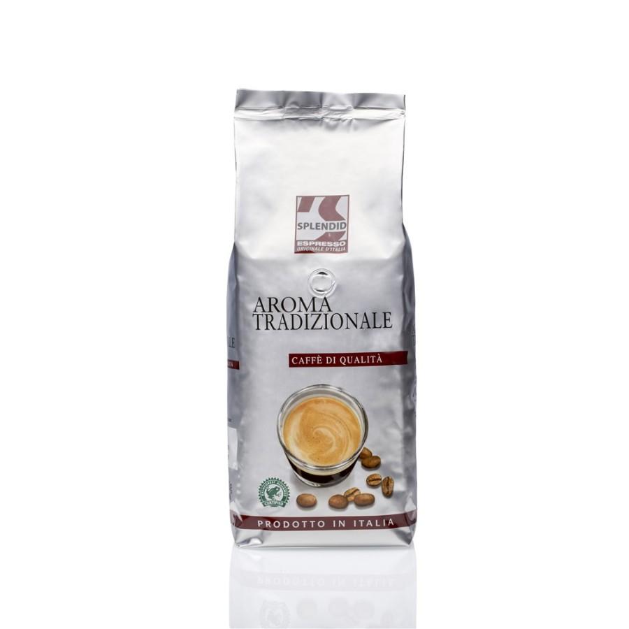 Splendid Aroma Tradizionale Espresso  8 x 1kg  Ganze Bohne, Rainforest Alliance