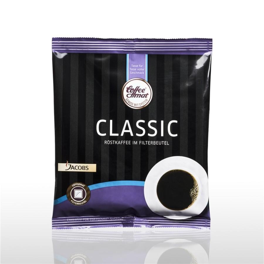 Coffeemat Classic halbe Kanne Filterkaffee  55 x 35g Filterbeutel