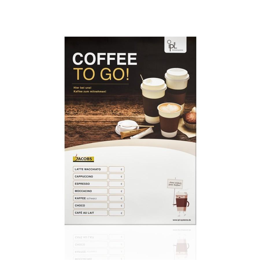 ipL Coffee to go Plakat 40 x 60cm