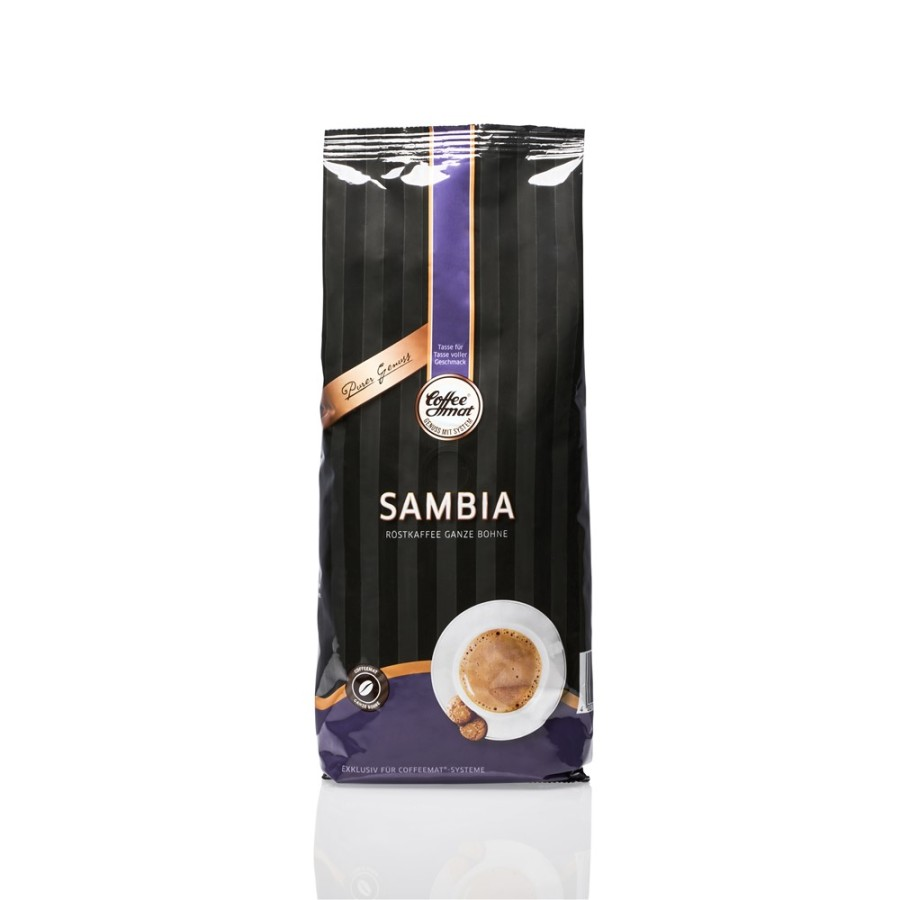 Coffeemat Sambia Café Crema 445g Ganze Bohne