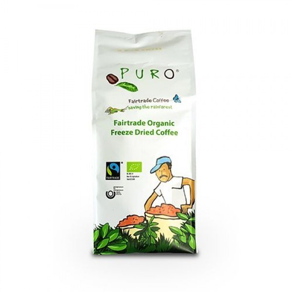 Puro Fairtrade Instant Coffee 500g Instantkaffee, Bio Fairtrade