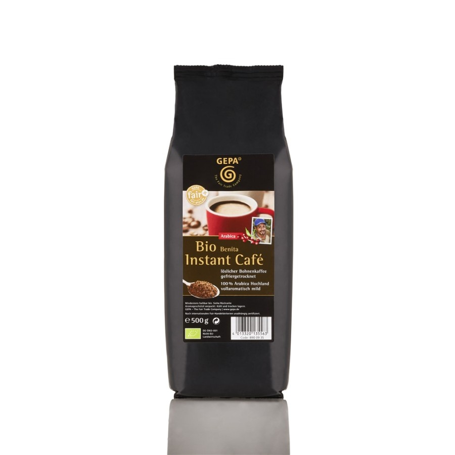 Gepa Bio Café Benita löslicher Kaffee 10 x 500g Instantkaffee, Bio Fairtrade