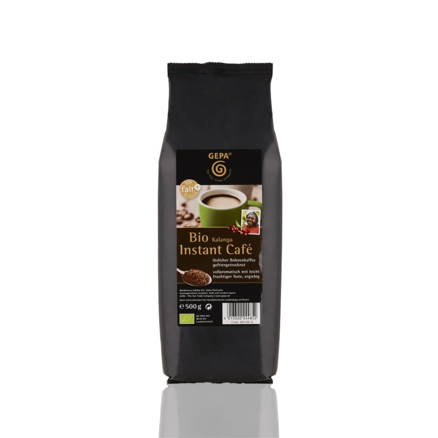 Gepa Bio Kalanga Instant Café löslicher Kaffee 500g Instantkaffee, Bio Fairtrade
