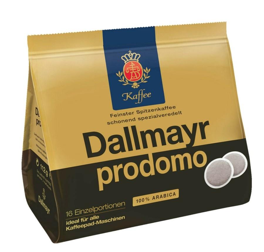 Dallmayr prodomo Röstkaffee 16 Pads