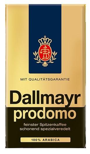 Dallmayr prodomo Filterkaffee 500g  Gemahlen