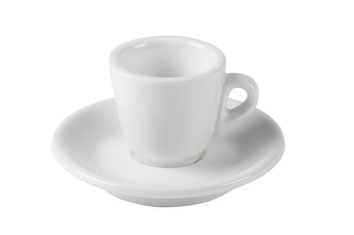 JoeFrex Espresso Tassen 60ml 6 Tassen inkl. Unterteller