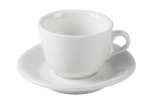 JoeFrex Cappuccino Tassen 190ml   6 Tassen inkl. Unterteller