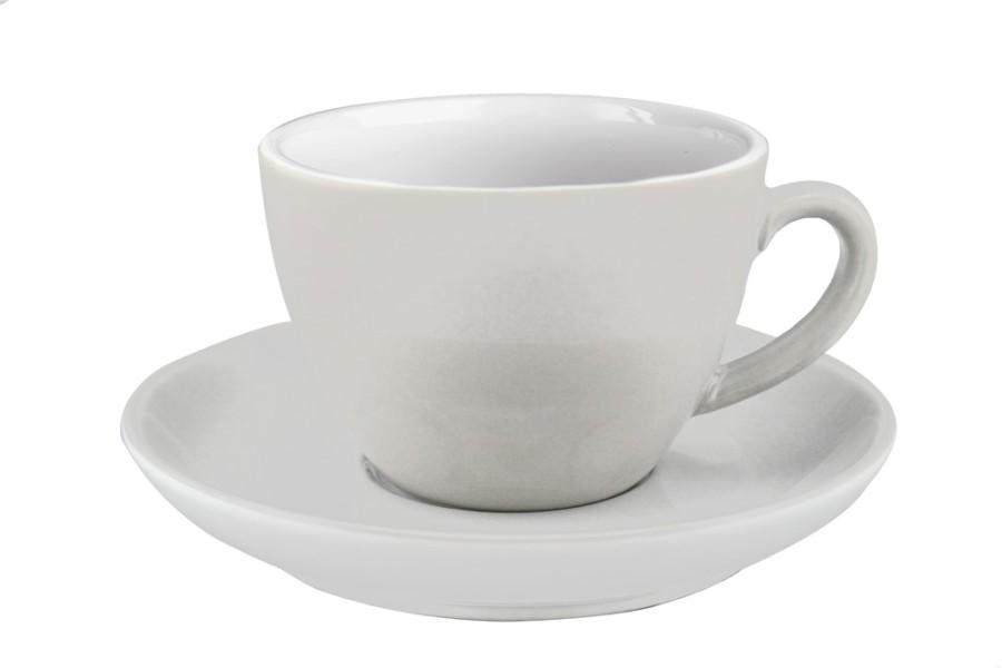 JoeFrex Milk Coffee Cup 300ml 4 Tassen inkl. Unterteller