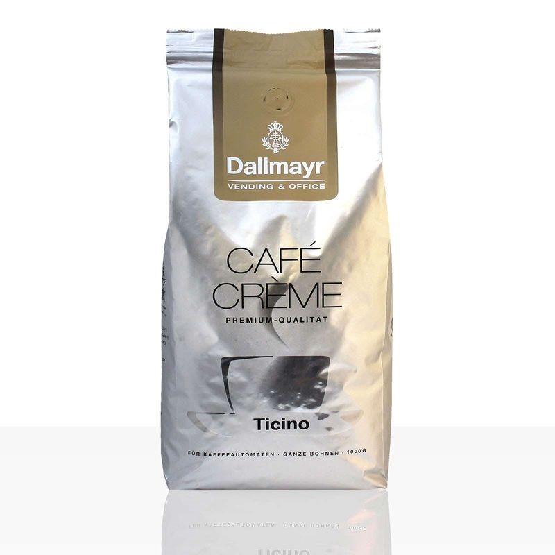 Dallmayr Vending & Office Ticino Café Crème 8 x 1kg Ganze Bohne