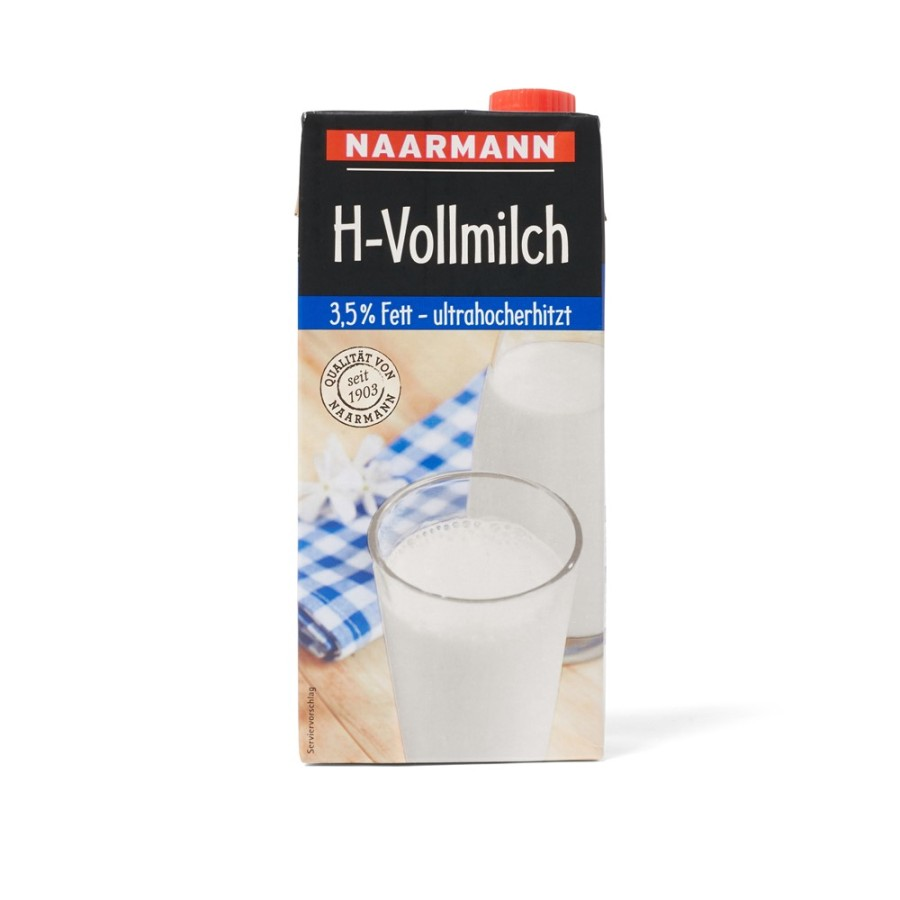 Naarmann H-Milch 3,5% Fett 12 x 1 Liter Tetrapack